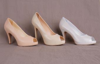 Pantofi de mireasă la comandă, din piele naturală - Stillmarc